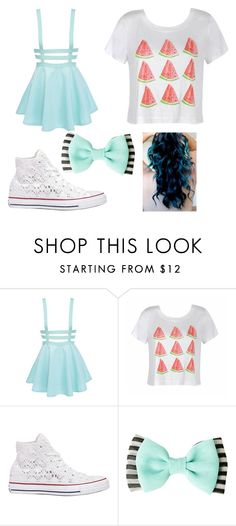"""Summer style"" by newlook101 on Polyvore featuring Ally Fashion and Converse"