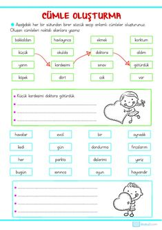 Turkish Language, English Language, Turkish Lessons, Learn Turkish, First Grade, Homeschool, Teacher, Math, Learning