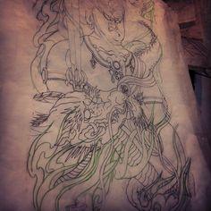 New projects . Fudomyo . Dragon.