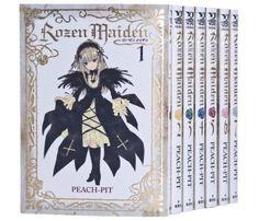 Rozen Maiden #1-7 complete comic set