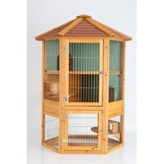 The Orchard Hexagonal Rabbit Hutch A stylish and spacious three storey hutch. This luxurious Hexagonal Hutch provides lots of space. Guinea Pig Hutch, Guinea Pigs, Diy Bird Cage, Mini Lop, Cat Cages, Rabbit Hutches, Wood Bird, Homemade Toys, Chickens Backyard