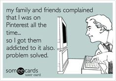 Funny quote for this Pintrest filled life :) The Not So Crafty Mom