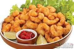 Breaded Shrimp and Cheese Recipe - Food and Recipes Chef Recipes, Seafood Recipes, Cooking Recipes, Healthy Recipes, Shrimp And Cheese Recipe, Breaded Shrimp, Good Food, Yummy Food, Salty Foods