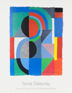 Viertel, 1968 by Sonia Delaunay - art print from King & McGaw