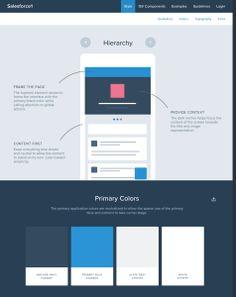 """Página que exibe vários e vários estilos de páginas web pra que você possa estudar """"Guias de Estilo"""""""