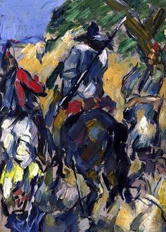 Don Quijote, Seen from the Rear  Paul Cezanne - circa 1875 http://spainatm.com/story-don-quijote-de-la-mancha/