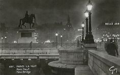 Paris 1937 Pont-Neuf - picture postcard