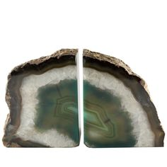 #agate #crystal #bookends #gift