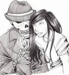 Skulduggery Pleasant by http://ice-ridden.tumblr.com