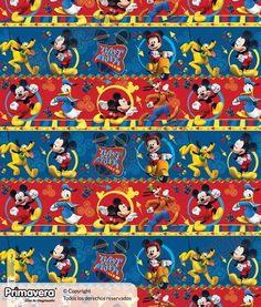 Papel Regalo Mickey Mouse 1-18-954 http://envoltura.papelesprimavera.com/product/papel-regalo-mickey-mouse-1-18-954/