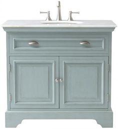 Sadie Single Vanity - Bath Vanities - Bath Vanity - Bathroom Vanity Cabinets   HomeDecorators.com #bathroomvanities