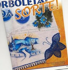 My Treasures: Lucky Butterfly in crochet
