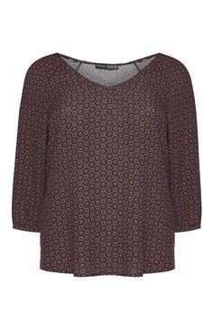 DISNEY Mickey Mouse T-shirt Femme Noir Encolure Dégagée Haut Femme Casual Tee-Shirt Primark