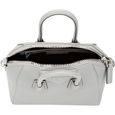 Givenchy Antigona Mini-Duffel ($1,750) ❤ liked on Polyvore featuring bags and luggage
