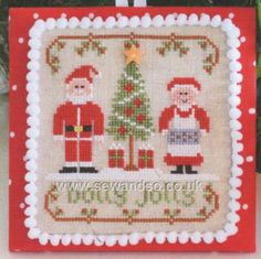 Buy Holly Jolly Chart Online at www.sewandso.co.uk