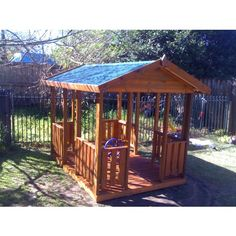 backyard forts for kids -smaller though