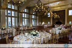 The venue...definitely want the oval tables