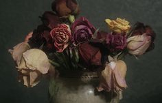dying flowers by deflam, via Flickr