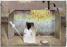 Pixel, Öl auf Leinwand, 22 x 30 cm, 2010
