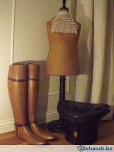 Massief houten beenmallen (2)