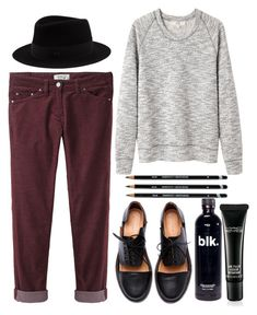 """""""1+1"""" by aga2406 ❤ liked on Polyvore featuring Étoile Isabel Marant, Vanessa Bruno Athé, Minimarket and MAC Cosmetics"""