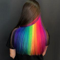 Top Grade Human Hair Wigs, Human Hair Closures, Human Hair Bundles and Peekaboo Hair Colors, Cute Hair Colors, Hair Dye Colors, Cool Hair Color, Two Color Hair, Exotic Hair Color, Latest Hair Color, Beautiful Hair Color, Creative Hairstyles