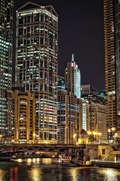 Chicago: My soon to be new home. I hope I get an apartment with a river view...
