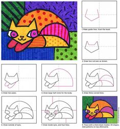 More Romero Britto.