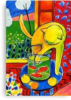 Not convinced it is actually by Matisse. Research needed before moving to my Matisse board. Henri Matisse, Matisse Kunst, Matisse Art, Matisse Tattoo, Matisse Cutouts, Matisse Paintings, Fish Artwork, Art Du Monde, Art Moderne