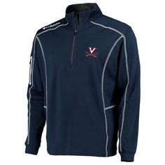 low priced ae01a 06034 Virginia Cavaliers Columbia Golf Shotgun Omni-Wick Quarter-Zip Pullover  Jacket - Navy Fan