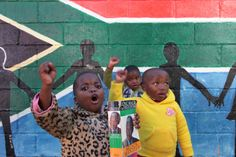 "The 24 Most Inspiring Photos of 2012 // Children at the Bethany Home -- Place of Safety sing ""Happy Birthday"" to Nelson Mandela on his 94th birthday on July 18, 2012 in Mthatha, South Africa."