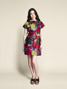 Robe Coton Femme Rangoon motif Ananas. #Africanfashion #AfricanClothing #Africanprints #Ethnicprints #Africangirls #africanTradition #BeautifulAfricanGirls #AfricanStyle #AfricanBeads #Gele #Kente #Ankara #Nigerianfashion #Ghanaianfashion #Kenyanfashion #Burundifashion #senegalesefashion #Swahilifashion DK
