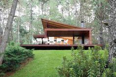 Modern Mountain Home, Tropical Houses, Style At Home, Modern House Design, Tiny House, Building A House, Architecture Design, House Plans, House Styles