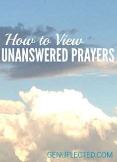 Why does God let good people suffer? If He loved us, wouldn't He always say yes to our prayers? This post will help you understand why yes isn't always what's best.