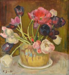 View Still life with tulips by Eero Järnefelt on artnet. Browse upcoming and past auction lots by Eero Järnefelt. Painting Still Life, Still Life Art, Paintings I Love, Flower Paintings, Painting Flowers, Art Floral, Still Life Flowers, Matisse, Love Art