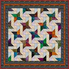 """Picket Fence - 5"""" Charm Quilt Pattern"""