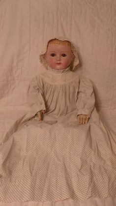 Rare and Large Gertrude Rollinson Cloth Doll from losthorizon on Ruby Lane