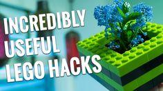 Vom Türstopper über einen Indoorgarten gibt es hier 9 nützlich Lego Hacks