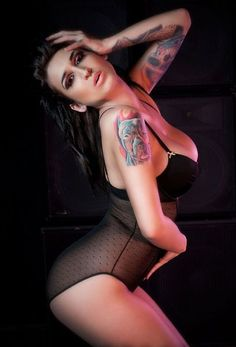 Hot tattooed girl 12, find more on hotfmodels.com