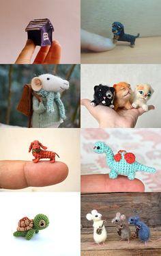 Teeny Tiny! by Magaly Fleytas on Etsy--Pinned with TreasuryPin.com