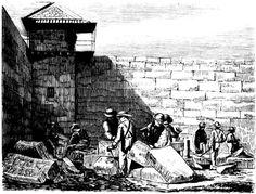 Darlinghurst Prison - Stone Cutters - 1866