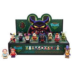 Disney Vinylmation Villains 3 Series Tray 3'' Figures -- 24-Pc. | Disney StoreVinylmation Villains 3 Series Tray 3'' Figures -- 24-Pc. - Inspired by the animated antagonists from Disney's classic features, our collection of Vinylmation Villains 3'' figures continues with Series 3. Now you can get a sealed tray of 24 individual boxes including two complete sets plus one mystery chaser.