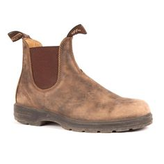 585 Blundstone Leather Lined in Rustic Brown