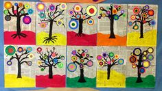 Kandinsky Project. 6th grade Primary School kids