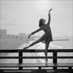 #Ballerina - @zarstah at #ConeyIsland #Brooklyn #NewYorkCity #ballerinaproject_ #ballerinaproject #ballet #dance by ballerinaproject_