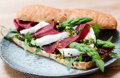 Sandwich med bresaola - nemlig.com