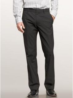 $70 | The tailored charcoal pant (straight fit) | Gap