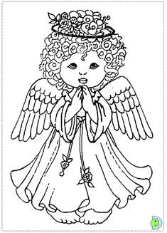 40 best angel printables images on pinterest coloring pages