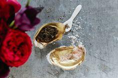 Oyster Salt Cellars via Design Sponge | Francois et Moi