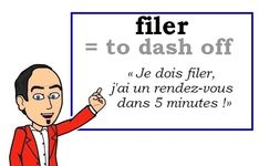 A new word every day: Learn French with Les Machin French Verbs, French Slang, French Grammar, French Phrases, French Quotes, Basic French Words, How To Speak French, Learn French, Learn English